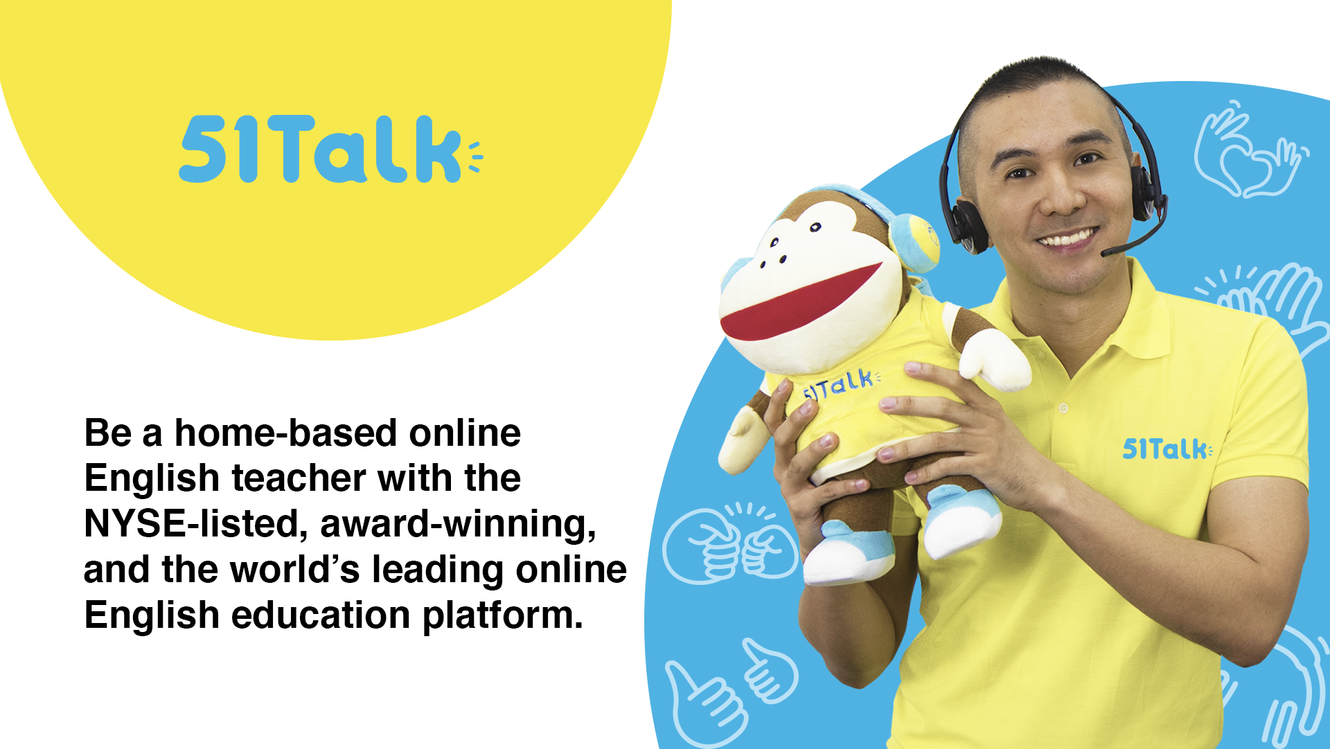 51Talk - Home-based Online English School